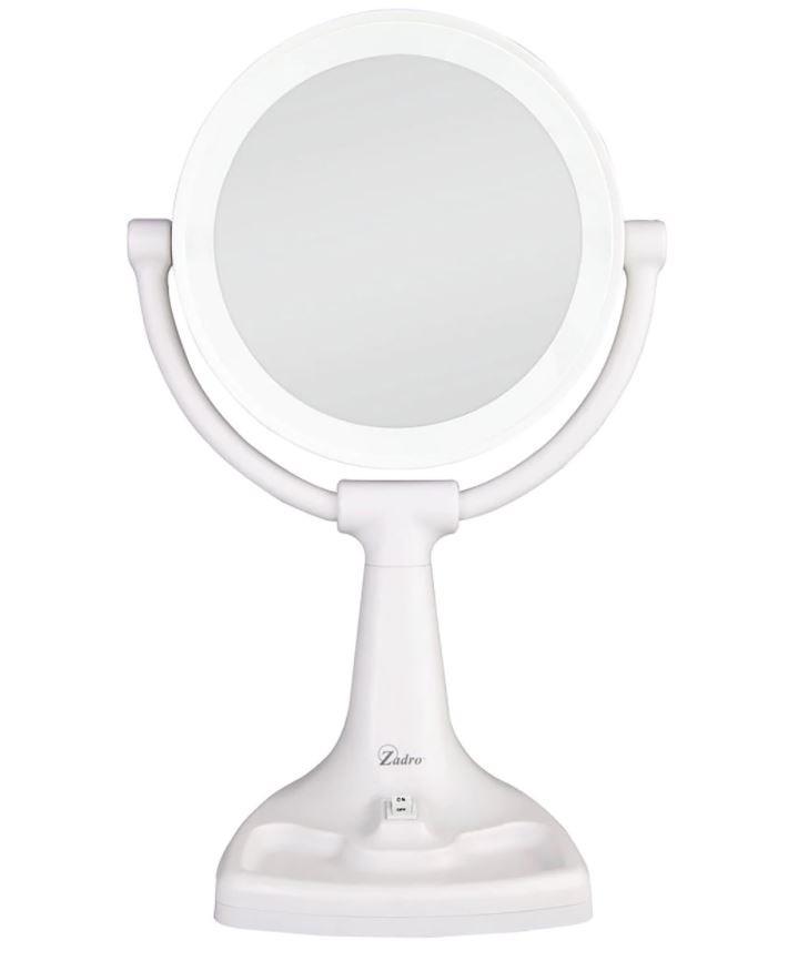Zadro Max Bright Sunlight Vanity Mirror, Zadro Makeup Mirror Replacement Bulbs