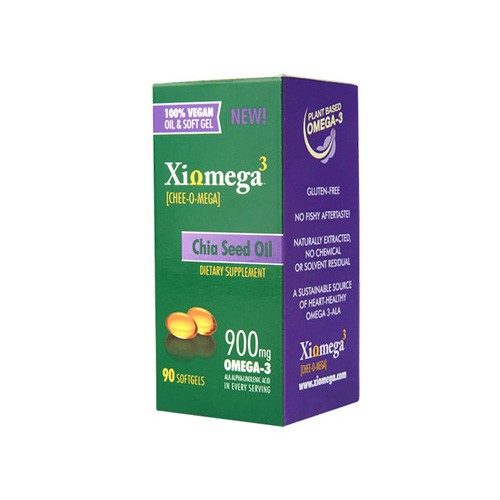 Xiomega3 Chia Seed Oil Softgels