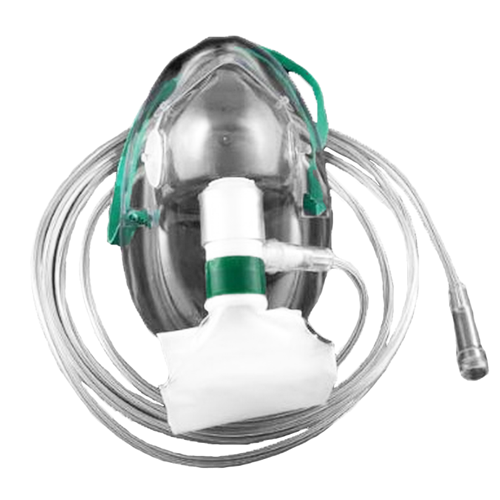 Oxygen mask nonrebreather adult high concentration at