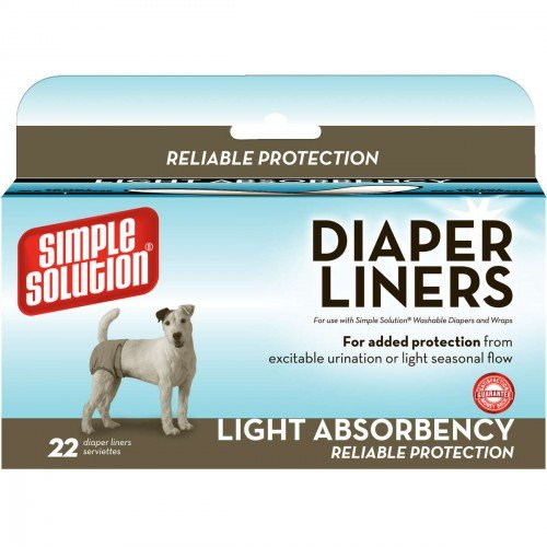 Disposable Dog Diaper Liners Light Flow