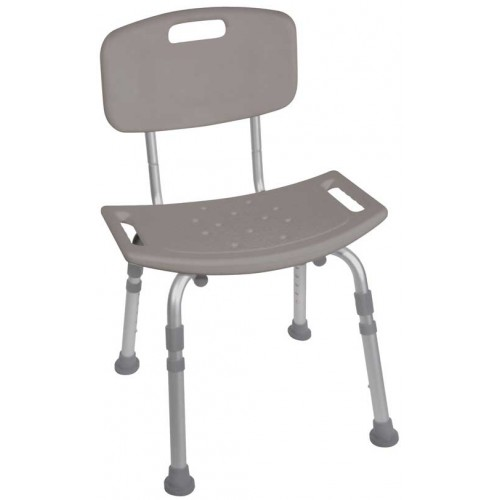 Bath Chair with Back Deluxe Bathing Chair