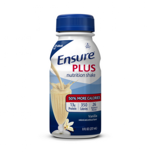Ensure Plus Vanilla, 8 oz Bottle