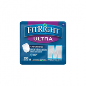 Medline FitRight Ultra Protective Underwear, Heavy Absorbency