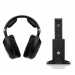 sennheiser rs 185 wireless headphone system with manual volume control fbc
