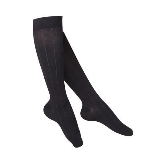 Women's Intelligent Rib Pattern Compression Socks 15-20 mmHg