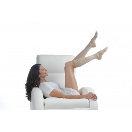 SILVERLINE LADY Knee High CLOSED TOE 20-30 mmHg