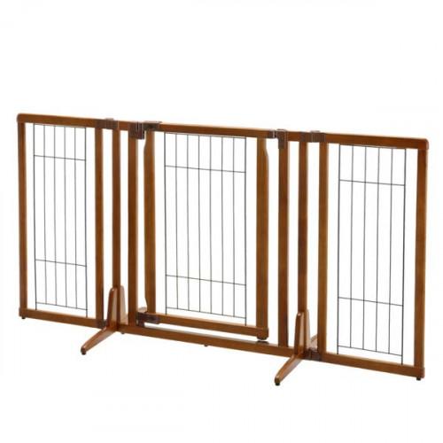 Richell Premium Freestanding Pet Gate with Door