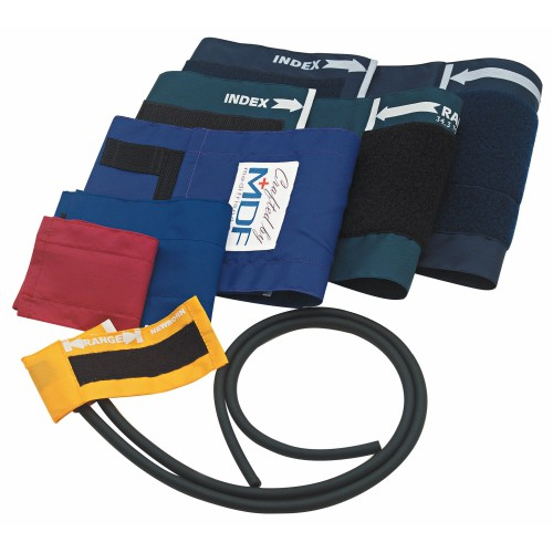 MDF Adult Blood Pressure Cuff with D-Ring and Single Tube