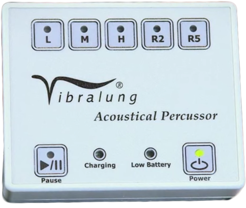 vibralungreg acoustical percussor airway clearance therapy device 257