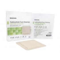 McKesson Hydrocellular Adhesive Foam Dressing 4 x 4-3/4 Inch - Sterile