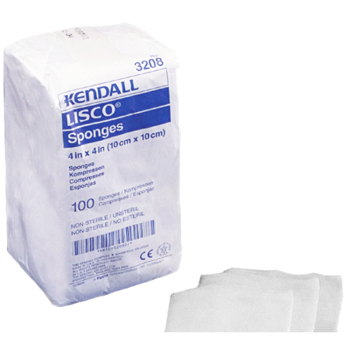 LISCO Cellulose Gauze Sponges