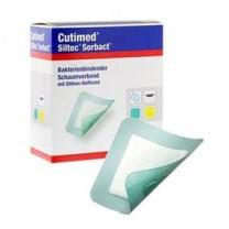 Cutimed Siltec Sorbact, 5 x 5 Inch