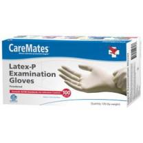 CareMates Latex Exam Gloves Non-Powdered - NonSterile