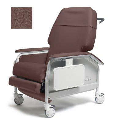 lumex extra wide clinical care geri chair recliner d38