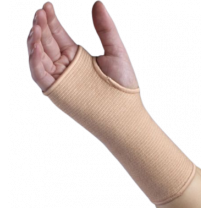 Pull-On Elastic Wrist Support