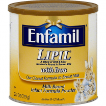 Enfamil Lipil Milk-Based with Iron Ready to Use - 6 oz