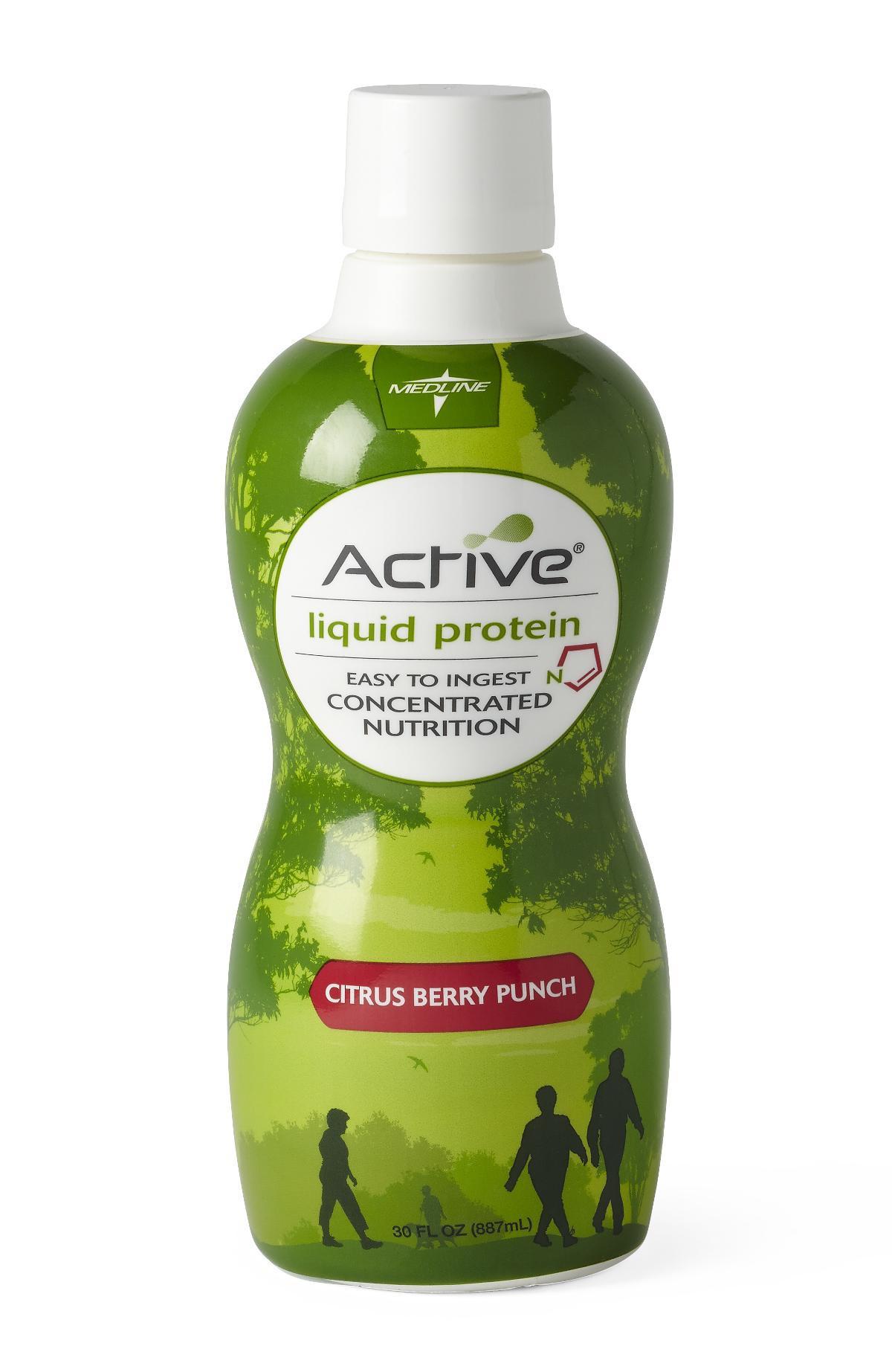 active liquid protein nutritional supplement b33