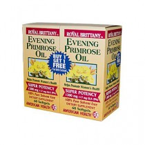 American Health Evening Primrose Oil Dietary Supplement 1300 mg