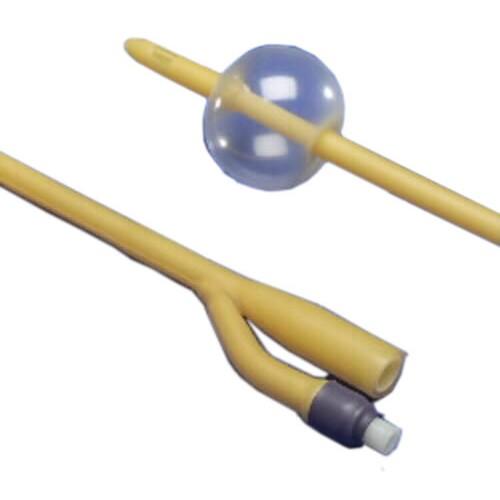kendall silicone coated foley catheter