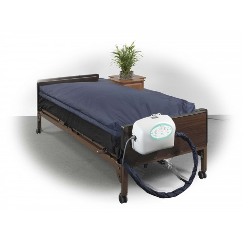 Mattress System with Pulsation True Low Air Loss
