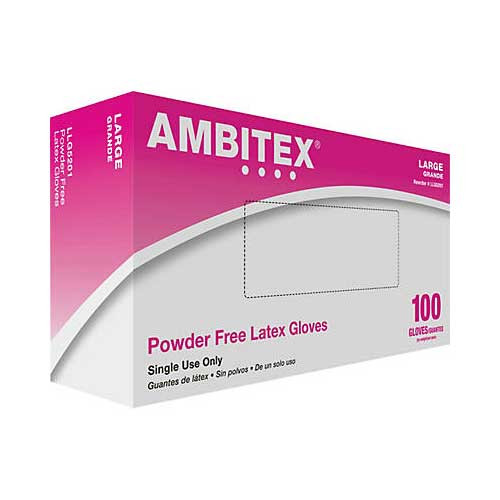 Ambitex Powder Free Latex Gloves L5201 Series