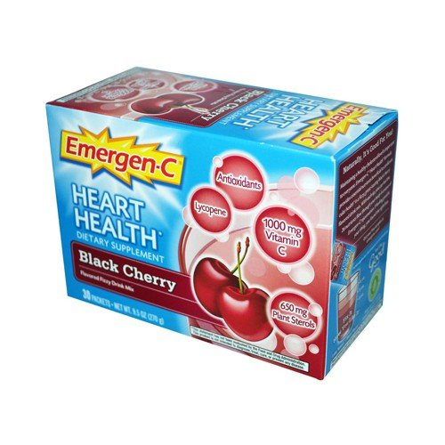 Alacer Emergen C Heart Health Fizzy Drink Mix