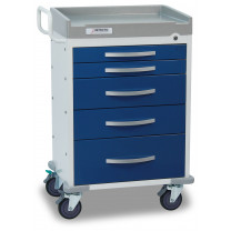 Detecto Rescue Anesthesiology Medical Carts