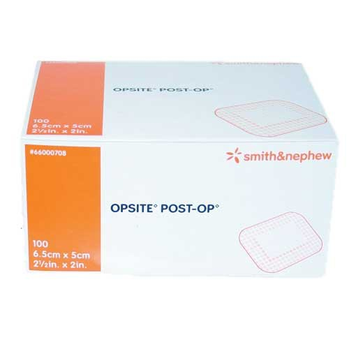 OpSite Post-Op 2-1/2 x 2 Inch Transparent Film Dressing