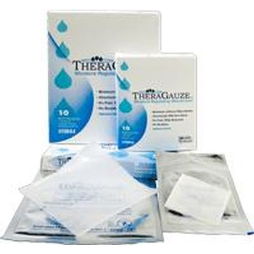 TheraGauze Hydrogel Wound Dressing - Soluble Systems