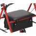 Steel Rollator Seat and Storage