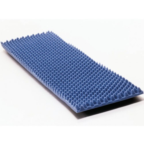 Standard Mattress Overlay Therapad Eggcrate Convoluted Foam Topper