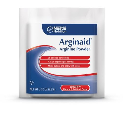 ARGINAID Arginine Powder Nutrition for Burns or Chronic Wounds Cherry - 9.2 gm