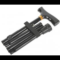 Folding Aluminum T-Handle Cane
