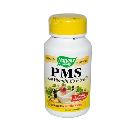 Natures Way PMS with Vitamin B6 and 5 HTP