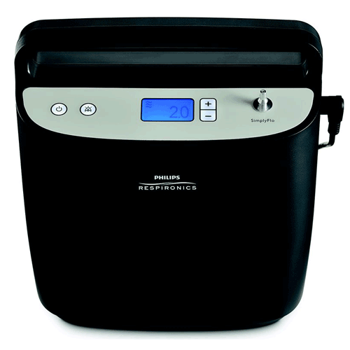 SimplyFlo Stationary Oxygen Concentrator 2 Liters