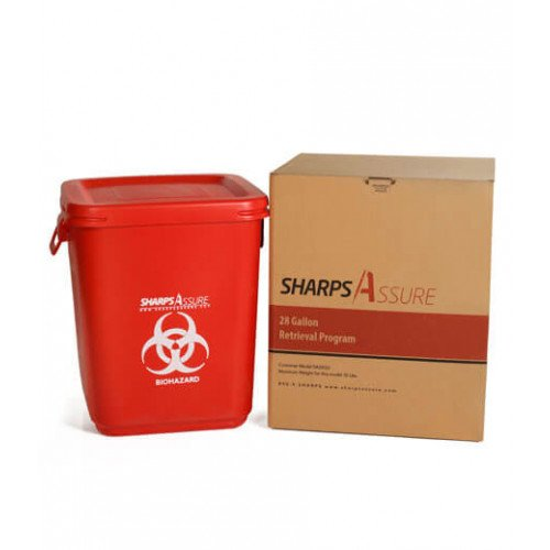 Sharps Assure 28-Gallon Retrieval Program