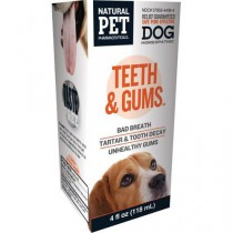 Homeopathic Natural Pet Dog Supplement - Teeth and Gums