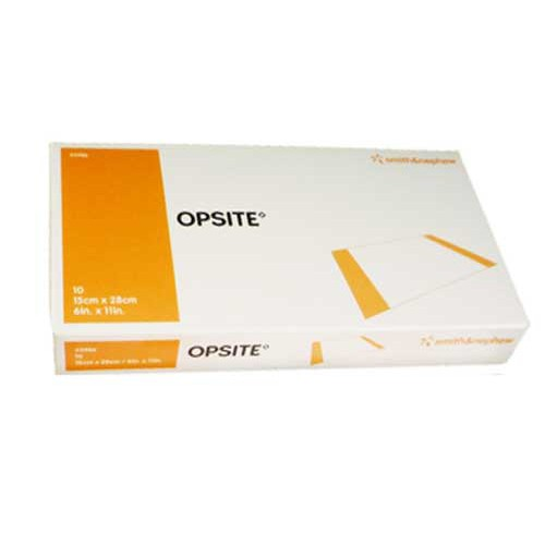 OpSite 4 x 11 Inch Transparent Adhesive Film Dressing 4542