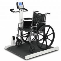 Detecto Folding Portable Wheelchair Scale 6550 Series
