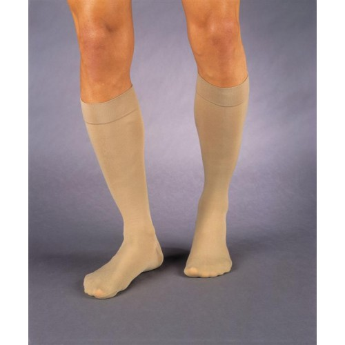 Jobst Relief Thigh High Compression Stockings with Silicone Top Band CLOSED TOE 15-20 mmHg
