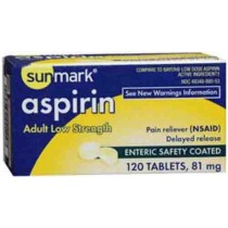 Low Strength Aspirin by Sunmark