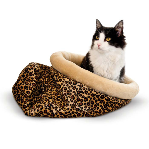 K and H Pet Products Self Warming Kitty Sack
