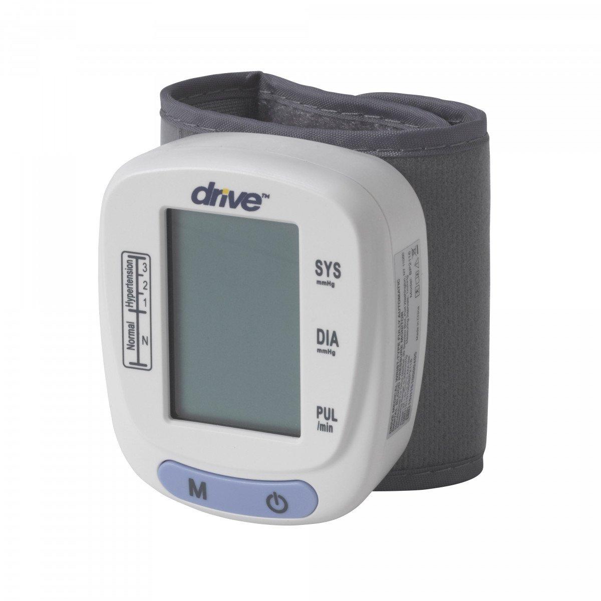 automatic blood pressure monitor wrist model 10f