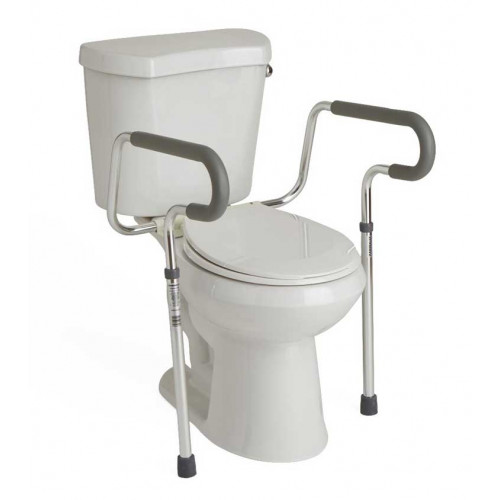 More Views G30300h Front Medline S Guardian Toilet Safety Rail