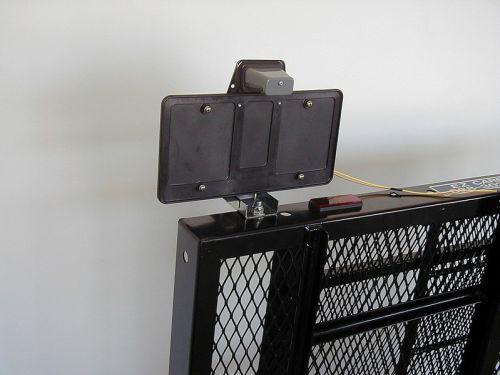 Ez Carrier License Plate Relocator Kit Lprk