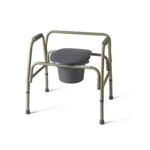 Astounding Medline Steel Bariatric Commode Gmtry Best Dining Table And Chair Ideas Images Gmtryco