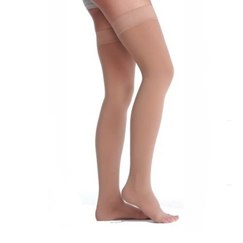 Juzo Soft 2001 Garter Style Thigh High Compression Stockings 20-30 mmHg