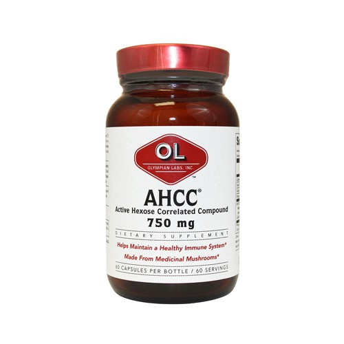 Olympian Labs AHCC 750 mg