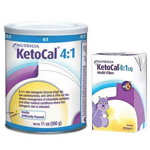 Ketocal 4.1 Ketogenic Powder and Liquid