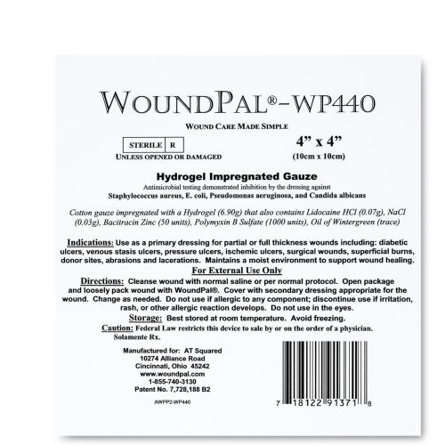 WoundPal Hydrogel Impregnated Gauze